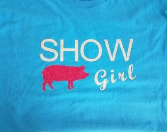 Show girl pig