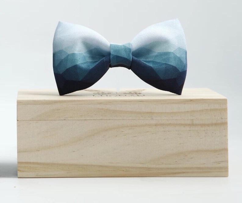 Groom Bow Tie Groomsmen Bow Ties Custom Wedding Bow Ties image 0
