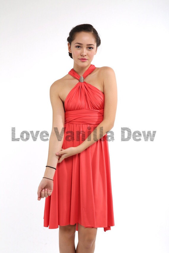 Coral Dresses for Weddings