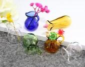 1Pcs Glass Bottles,Coffee Maker Wishing bottle,mini small teapot bottle,Teapot-shaped bottle,DIY Handmade jewelry findings