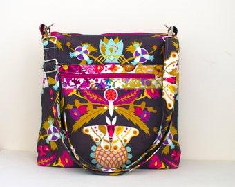 SEWING PATTERN,  Mako Bag PDF sewing pattern, Boxy bag, crossbody bag, Shoulder Bag sewing pattern