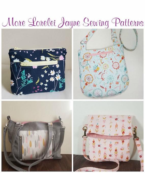 Elaine Cross Bag PDF Sewing Pattern