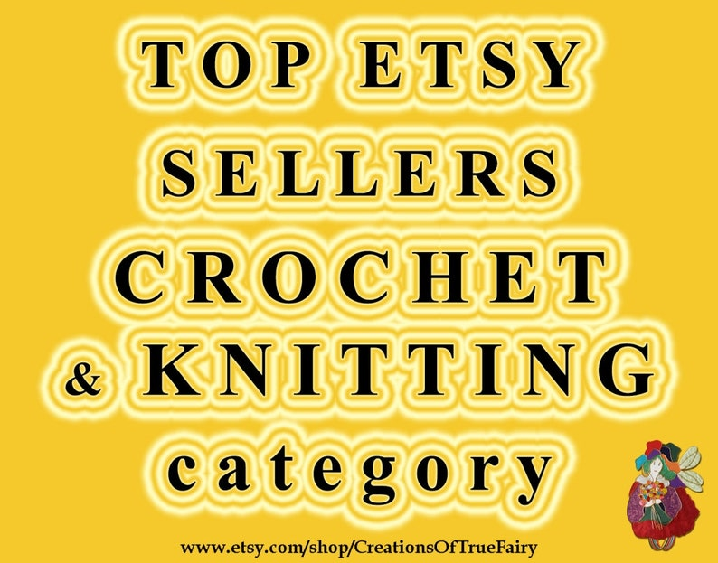 f1e35b6000680 Top Etsy sellers in CROCHET & KNITTING category Top selling Crochet shops  Most popular Knitting stores Best selling Etsy shops Popular now