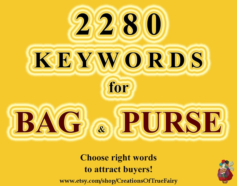 7b0cb6ae421 2280 Bag keywords Top etsy keywords Search optimization