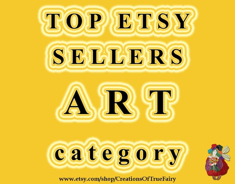 Top Etsy sellers ART category Top selling art shops Most | Etsy