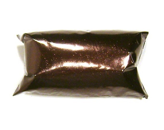"""Antique Bronze, Brown Glitter, Solvent Resistant Poly Fine Glitter .008"""" Slime, Nail Polish, Makeup, Face & Body Glitter 6oz / 177ml Package"""