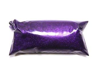 "Bright Purple, Extra Fine Glitter, .004"" Solvent Resistant Polyester Lip Gloss, Nail Polish, Resin Jewelry, Custom Tumblers, Body Glitter"