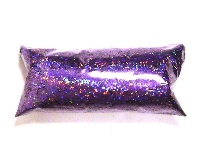 "Lavender Jewels Chunky Holographic Glitter - Solvent Resistant Polyester .025"" Holo Glitter, Nail Polish, Makeup, Tumbler, Yeti, Lip Gloss"