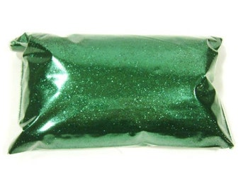 "Fine Green Glitter, Metallic Lime, Loose Polyester Glitter .008"" Nail Polish, Shoe, Body, Epoxy, Slime, Tumblers & More, 6oz / 177ml Package"