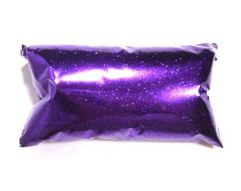 "Bright Purple Glitter .015"" Fine Loose Bulk Solvent Resistant Poly Glitter Wine Glass, Wedding, Eyeshadow, Glitter Nails 6oz / 177ml Package"