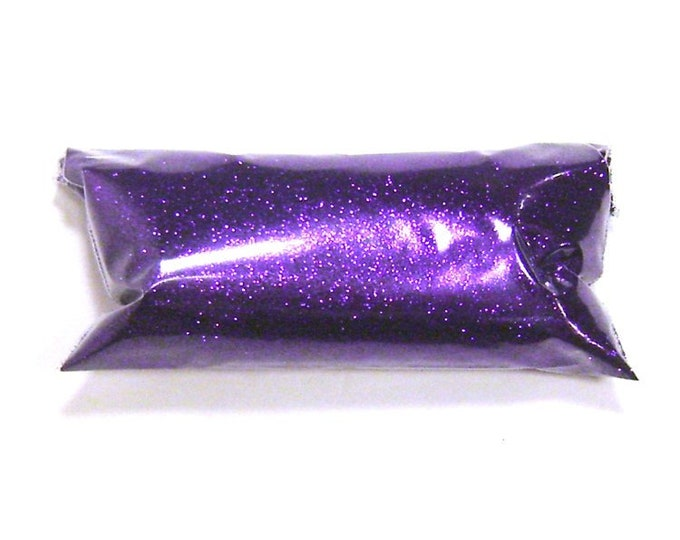 "Fine Glitter, Bright Purple .008"" Loose Solvent Resistant Poly Glitter - Shoe, Makeup, Eyeshadow, Slime, Tumbler, Yeti, Nail Polish Glitter"