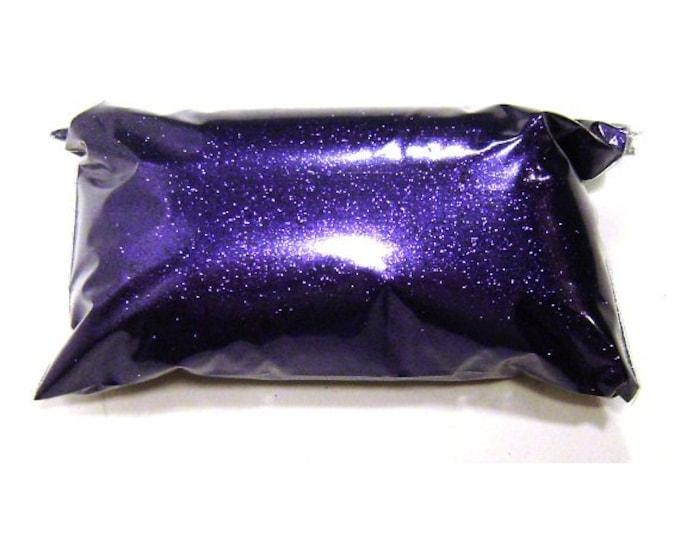 "Rich Purple Glitter, Very Fine .008"" Polyester, Nail Polish, Lip Gloss, Candles, Epoxy Resin Art, Bulk Tumbler Glitter - 6oz / 177ml Package"