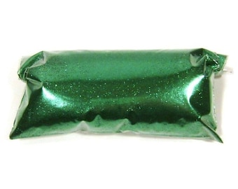 "Fine Valley Green Glitter, Solvent Resistant Polyester, .008"" Hex Loose Glitter, Nail Polish, Eyeshadow, Body & Face, Custom Tumbler Glitter"