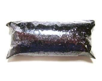 "Chunky Glitter Shiny Gunmetal Gray Solvent Resistant Poly .025"" Loose Glitter Nail Polish, Yeti, Eyeshadow, Body & Face, Tumbler Glitter"