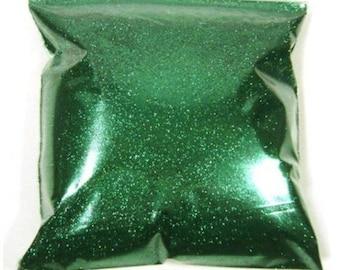 "Fine Green Glitter, Metallic Lime, Solvent Resistant Polyester Glitter .008"" Bulk Glitter, Body, Nail Polish, Tumblers - 9oz / 266ml Package"
