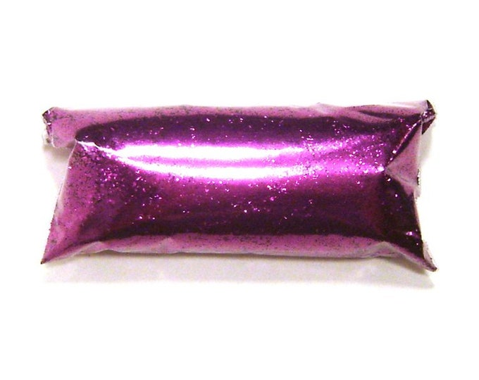 "Rich Fuchsia, Purple Glitter, Fine .015"", Loose Solvent Resistant Poly, Shoes, Lip Gloss, Makeup, Custom Tumblers, Nail Polish, Epoxy Safe"