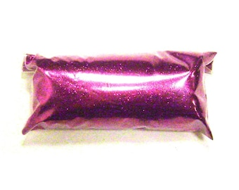 "Fine Purple Glitter, Rich Fuchsia .008"", Loose Solvent Resistant Poly Glitter - Shoe, Makeup, Eyeshadow, Slime, Tumbler, Nail Polish Glitter"