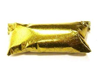 "Rich Gold Fine Glitter - Solvent Resistant Polyester Loose Glitter .008"" Nail Polish, Body Art, Lip Gloss, Eyeshadow, Custom Tumbler Glitter"