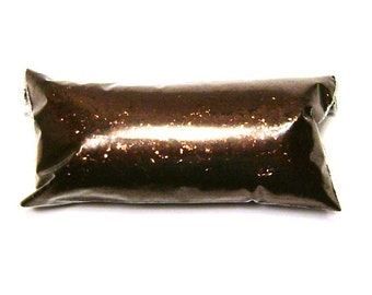 """Brown Chunky Glitter, Antique Bronze, Solvent Resistant Polyester, .025"""" Loose Glitter, Nail Polish, Eyeshadow, Body & Face, Tumbler Glitter"""
