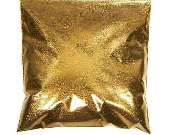 """Golden Chestnut (Brown) Loose Glitter, Very Fine .008"""", Solvent Resistant, Nail Polish, Tumblers, Lip Gloss, Makeup - 9oz / 266ml Package"""