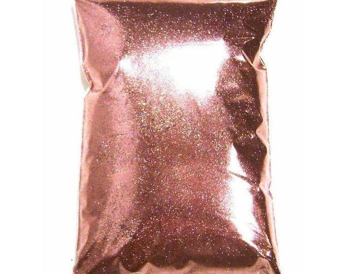 "Metallic Pink Glitter, Solvent Resistant Polyester .008"", .015"" or .025"" Very Fine to Chunky Professional Bulk Glitter, 1 lb / 454g Package"