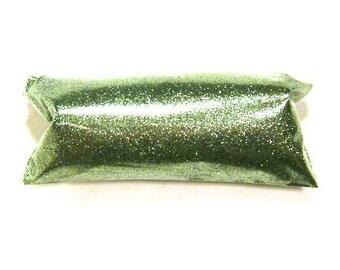 """Fine Glitter Bright Ocean Green Glitter Solvent Resistant Poly Bulk Glitter .008"""" Nail Polish, Body Art, Slime, Eyeshadow, Tumbler Glitter"""