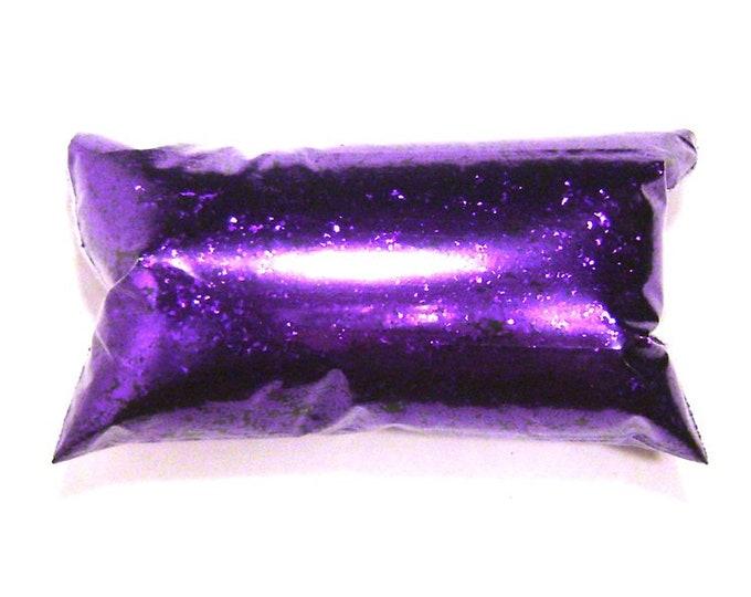 "Bright Purple, Chunky Glitter .025"" Bulk Solvent Resistant Glitter, Nail Polish, Eyeshadow, Tumbler, Shoe, Slime Glitter 6oz / 177ml Package"