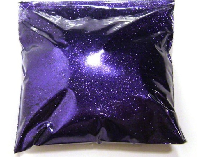 "Rich Purple Very Fine Glitter, .008"", Makeup, Nail Polish, Face Painting, Tumblers & Jars, Solvent Resistant, Epoxy Safe 9oz / 266ml Package"