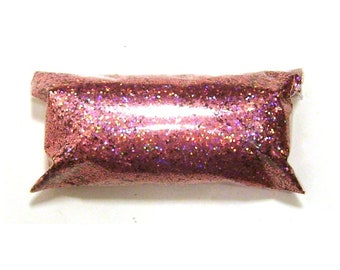"Holographic Glitter, Chunky Pink Jewels, Solvent Resistant Polyester .025"" Holo Glitter - Nail Polish, Makeup, Tumbler, Yeti, Slime Glitter"
