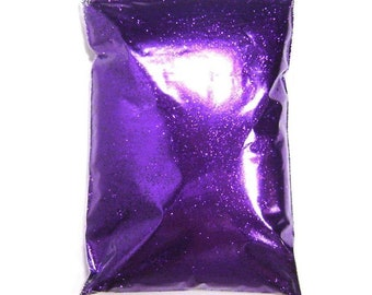 "Bright Purple Glitter Solvent Resistant Polyester  .004"", .008"", .015"" or .025"" Extra Fine to Chunky, Pro Bulk Glitter, 1 lb / 454g Package"