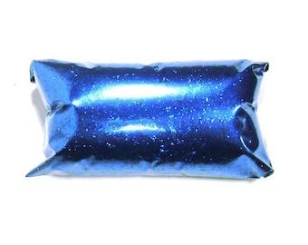 "Electric Blue Glitter .015"" Polyester Solvent Resistant Metallic Glitter Slime, Yeti, Tumbler, Nail Polish, Bulk Glitter 6oz / 177ml Package"