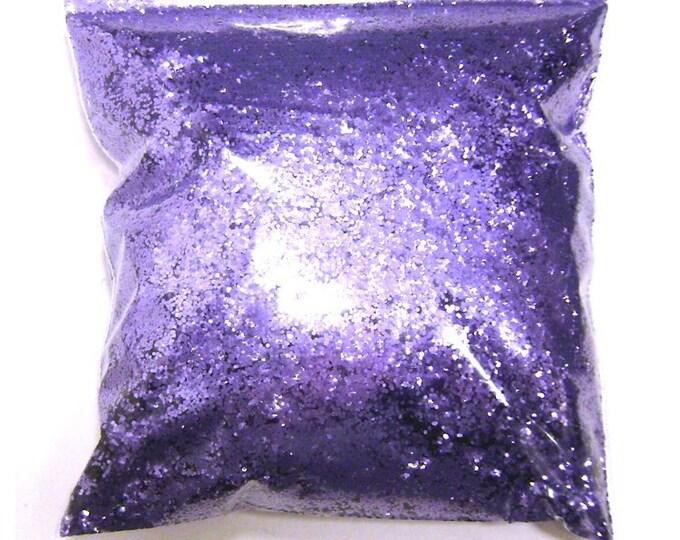 "Regal Purple (Lavender), Chunky Glitter .025"" Solvent Resistant, Nail Polish, Resin Jewelry, Jars, Shoe, Bulk Glitter - 11oz / 325ml Package"