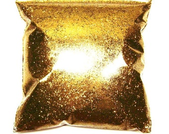 "Golden Chestnut Glitter, Fine .015"", Solvent Resistant Poly, Nail Polish, Makeup & Cosmetics, Bulk Tumbler Glitter 11oz / 325ml Package"