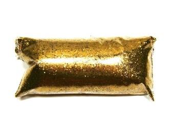 "Golden Chestnut (Brown) Glitter, Fine .015"" Hex, Loose Poly, Cosmetics, Jewelry, Lip Gloss, Makeup, Epoxy & Resin Safe, Bulk Tumbler Glitter"