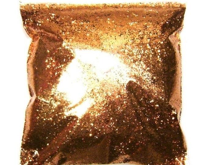 "25% Off Shiny Copper, Chunky Glitter, Polyester .025"", Epoxy Safe, Resin Art, Custom Tumblers, Weddings, Lip Gloss, Cosmetics 9oz / 266ml Pa"