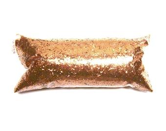 "Polished Copper Glitter, Solvent Resistant Polyester .025"" Cut, Chunky Poly Glitter Nail Polish, Eyeshadow, Slime, Tumbler, Metallic Glitter"