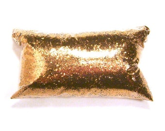 "Metallic Bronze, Chunky Glitter .025"" Bulk Solvent Resistant Glitter, Nail Polish, Eyeshadow, Custom Tumblers, Weddings, 6oz / 177ml Package"