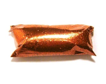 "Bright Orange Fine Glitter Solvent Resistant Poly Loose Glitter .015"" Nail Polish, Tumbler, Makeup, Slime, Lip Gloss, Body & Face Glitter"