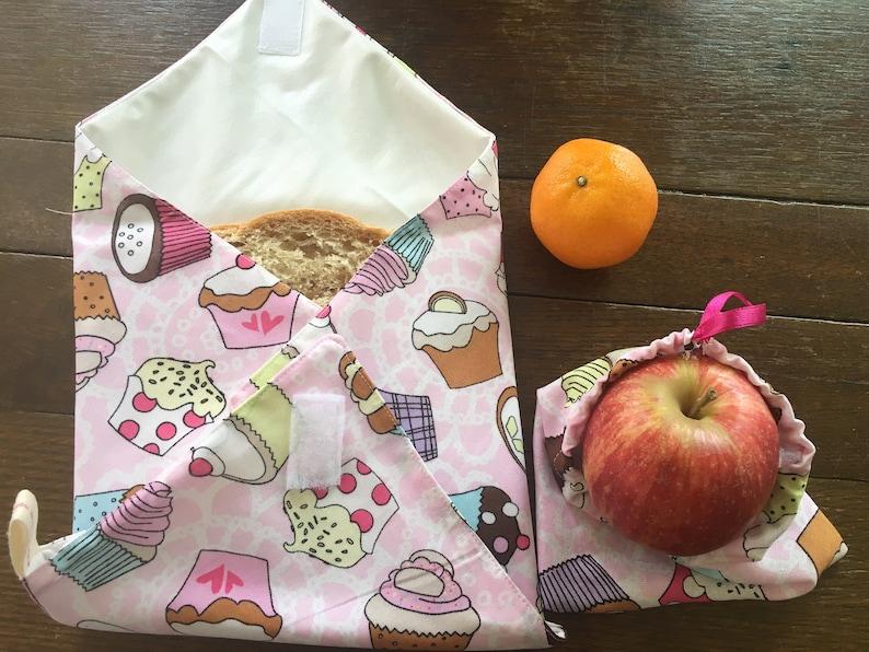 Sandwich Wraps fruit bag, Reusable sandwich wrap Sandwich covers Eco wraps