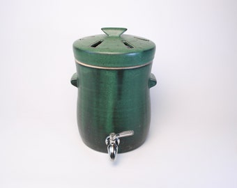 Crock With Lid Etsy