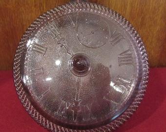 Vintage Amethyst clock bowl