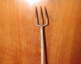 Green handled utensils -Vintage Fork and scoop