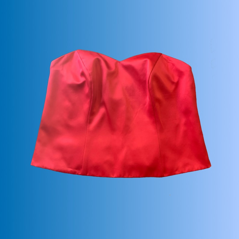 Vintage Red Bustier