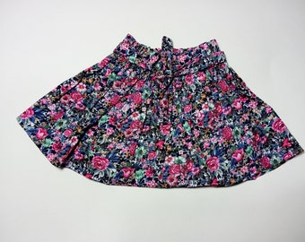 Cute pop little skirt with elastic belt, cotton skirt, spring summer skirt, 1-3 years old, perfect shower gift, birthday gift
