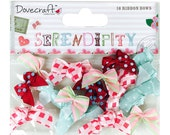 Dovecraft Serendipity 16 Mini Ribbon Bows
