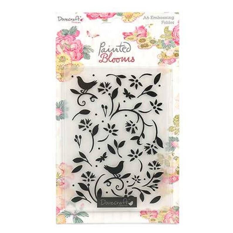 Dovecraft SWEET PARIS Embossing Folder Fleur De Lys Universal Cardmaking
