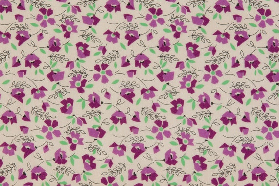 Laurene Sinema Oop Fabric For South Sea Imports Thirties Etsy