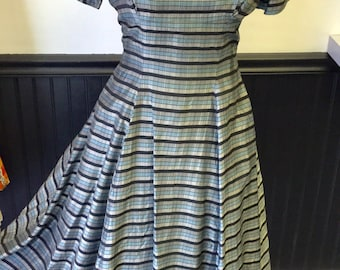 1950's Ladies Party Evening Dress Bust 32""