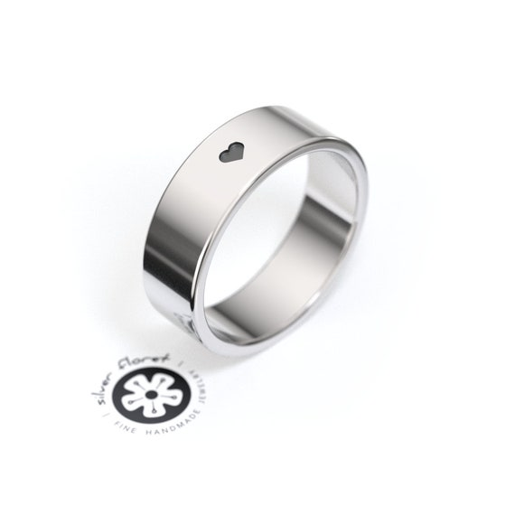 14K White Gold Pl Solid 925 Sterling Silver Classical Cross Men/'s Promise Ring