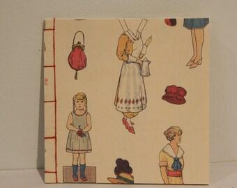 Handmade Softcover Book - Paperdolls 3
